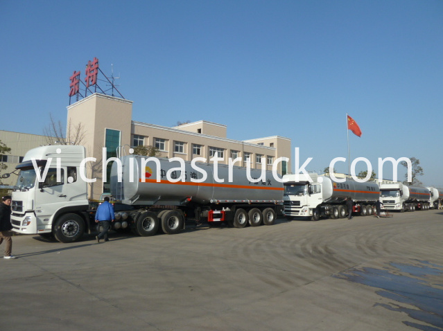 Oil field fuel tank semi-trailer 45CBM
