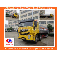 8X4 350p Hongyan tanque de armazenamento de óleo pesado, camiões tanque de combustível