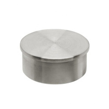 Customized Handrail Fitting Brushed Decorative Stainless Steel Pipe End Cap