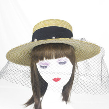 Venta caliente borlas verano salvavidas sombrero de paja