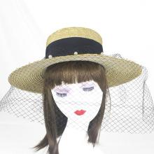 Borlas de vendas quentes chapéu de palha salva-vidas de verão