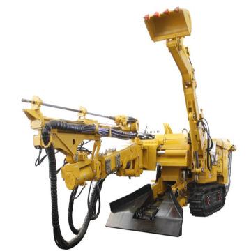 Máquina de perfuração montada em reboque de escavadeira