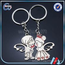 Keychain ange, Keychain meilleur ami, porte-clés drôle