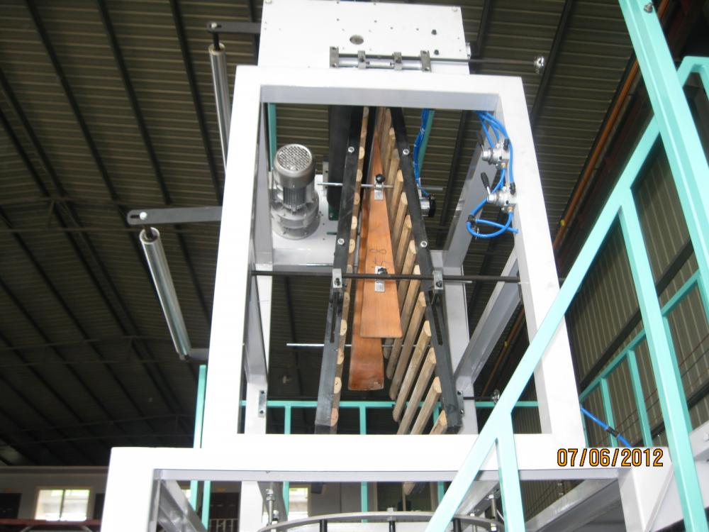 Gusset Device for Film Blowing Machine