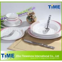 Ensembles de vaisselle de porcelaine quotidienne en gros
