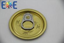 202# 52mm Food Can Steel Easy Open Lid With Organosol Lacqu