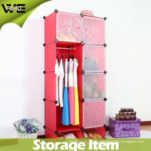 Plastic Storage Box Useful Modern Bedroom Wardrobe Cabinet