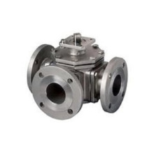 Válvula de bola neumática de fundición de inversión de acero inoxidable (fundición de cera perdida)