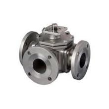 Válvula de esfera pneumática da carcaça de investimento de aço inoxidável (carcaça perdida da cera)