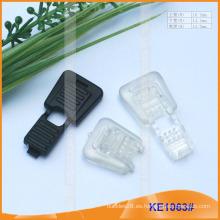 Forme el extremo plástico de la cuerda para las prendas KE1063 #
