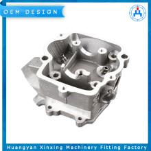 Pièces en aluminium de bâti de haute précision de cylindre de moto