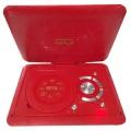 Reproductor de DVD portátil de plástico colorido