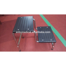 LD802-1 2 step stainless steel medical footstool