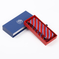 Corbata bordada aduana de alta calidad