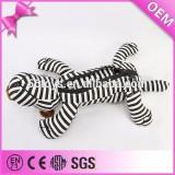 Customise kawaii stationery zebra plush animal pencil case toys, animal shape plush pencil case