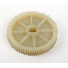 White Plastic Nylon POM Derlin Acetal Wheels
