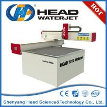 China CABEZA 1000mm * 1000mm Mini máquina de corte por chorro de agua para el vidrio