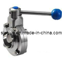 Stainless Steel Sanitary Weld Butterfly Valve