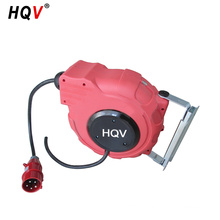red cable reel cover plastic power cord reel