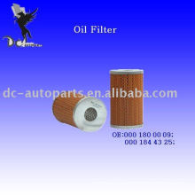 Filtro de aceite Element 000 180 00 09 para Mercedes-Benz