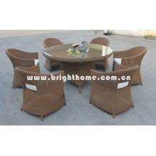 Muebles al aire libre del sistema de cena (BP-302)
