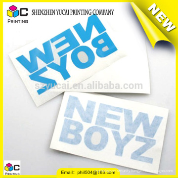 China supplier sticker printing in roll and coloring sticker printing