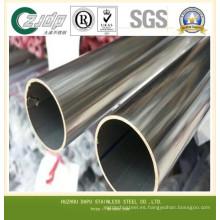 ASTM 304 316 Máquina de gofrado Tubería de acero inoxidable