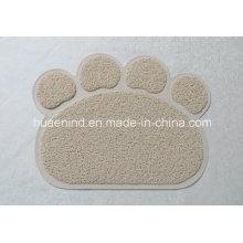 Tapis protecteur de déchets de PVC pour animaux domestiques, produits pour animaux de compagnie