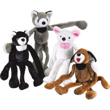 Furry Plush Toy with 100% PP Cotton Filling (D1)