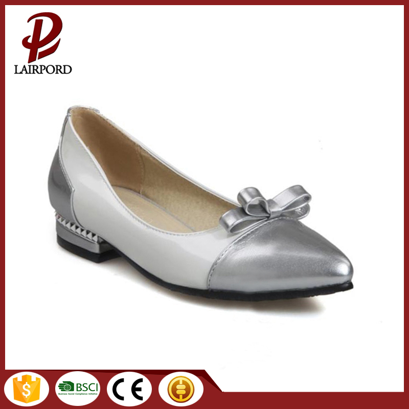 newest flat leather shoes good quality comfortable