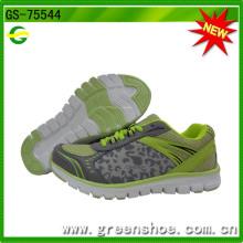 Nuevas zapatillas de deporte Factory Breathe Mesh Upper para mujer (GS-75544)