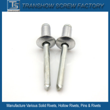 Remaches ciegos del mandril de aluminio de la rotura de la aleación