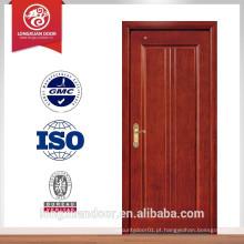 Mais recente porta de madeira de design porta de porta de porta simples porta de quarto interior porta de madeira interior