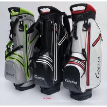 Bolsa de soporte de golf de nylon impermeable para deportes al aire libre