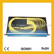 Atacado 1X32 19 Inch 1u Rack-Mount Sc Adaptador Fibra Óptica PLC Splitter