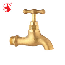 Classic type outdoor garden complete brass cold water tap
