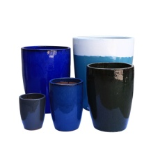Venta caliente macetas de cerámica para jardineras de flores de maceta de jardín