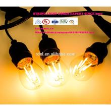 Сл-59 Открытый лампы IP65 Сид G45 E27 светодиодные ленты света для Рождественские украшения всепогодный