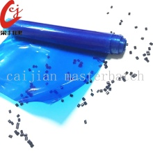 Fluorescent Blue Blowing Film Masterbatch Granule