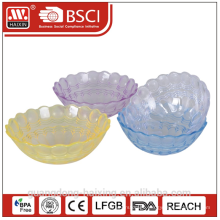 HAIXING Popular round Plastic bowl