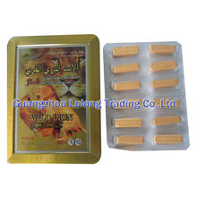 Natural Health Product Wild Lion Herbs Male Enhancement For Penis Enlargement 12 Capsules Per Box