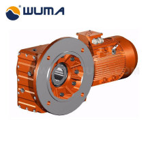 K series with output shaft gear reduction speed reducer with ac motors