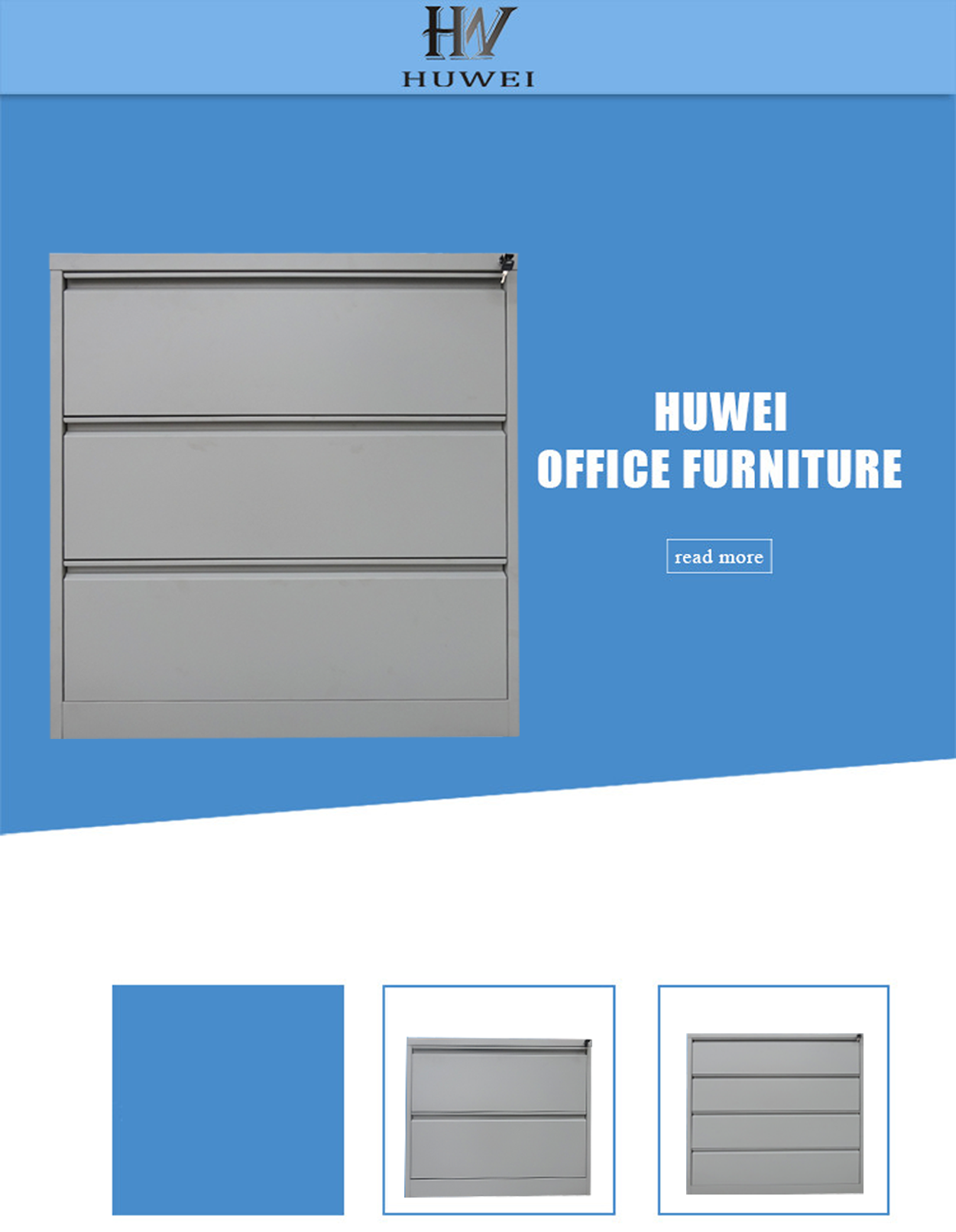 steel office hanging file cabinet