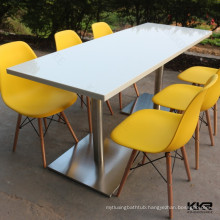Customized Acrylic Solid Surface Fast Food Restaurant Table and Chair