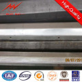 Franch Standard 12m 500-1500dan Steel Poles Safety Factor 2.1