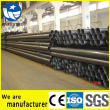 Supply round square rectangular SS400 steel pipe