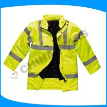 140g de rembourrage en hiver portant une veste de sécurité matelassé