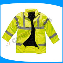 Jaqueta de segurança acolchoada desgastando do inverno de 140g