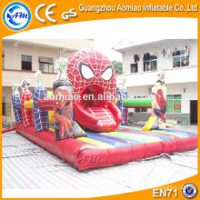 Spiderman inflatable jump pad jumping mat inflatable jumper