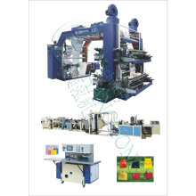 High Speed Four Color Woven Sack Printing Press (CE)